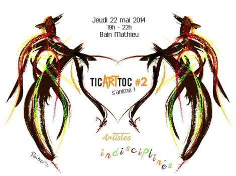 TicArtToc #2 prendra vie le 22 mai prochain !