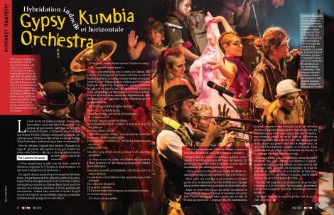 Portrait d'artistes : Gypsy Kumbia Orchestra | TicArtToc