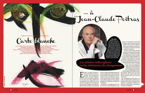 Carte blanche à... Jean-Claude Poitras