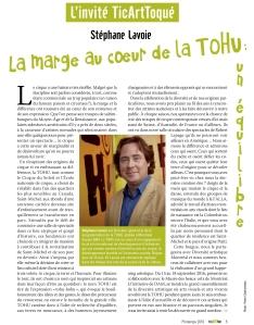 TAT #6 - texte Stéphane Lavoie